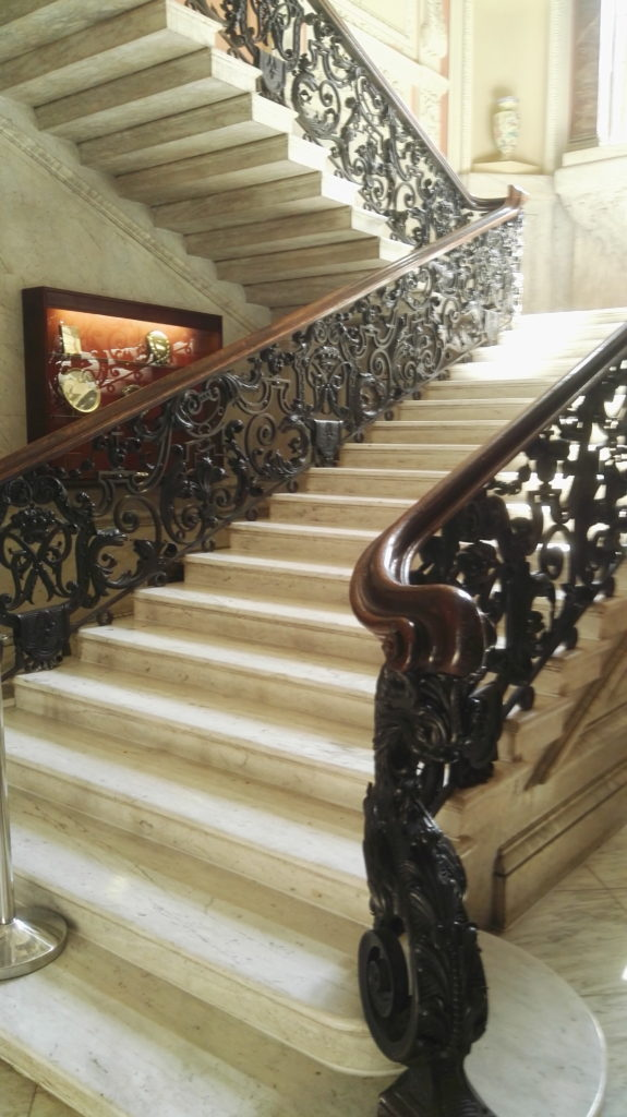 Staircase at Dartmouth House